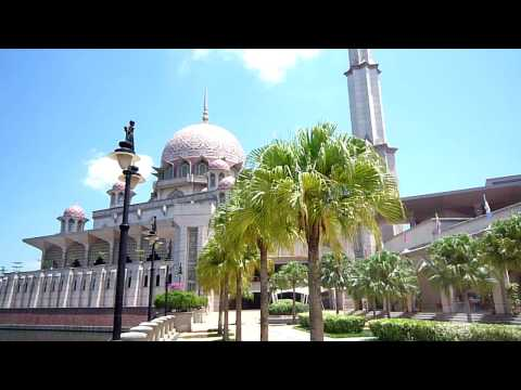 Putrajaya, population 100,000, a new city in Malaysia