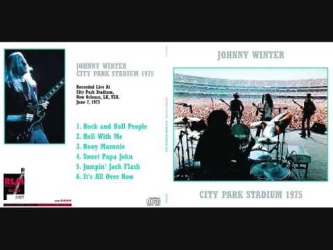 Johnny Winter- City Park Stadium, New Orleans, La. 6/7/75