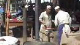 Chine  la Foire populaire ancestrale de Kashgar