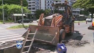 Kapiolani Blvd. water main project could last until spring 2016