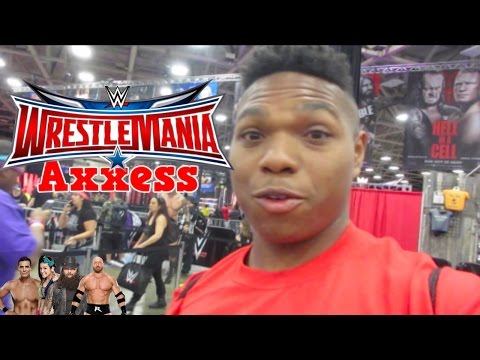 WrestleMania 32 Trip: Day 2 | WrestleMania Axxess | Meeting Bray Wyatt & Bayley