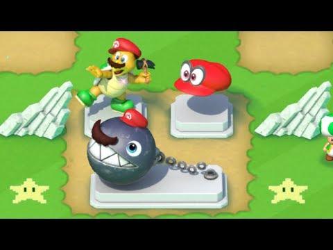 Super Mario Run - All Super Mario Odyssey Statues Unlocked - Toad Rally
