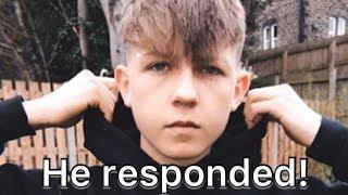 CRINGIEST KID ON TIKTOK RESPONDED TO MY VIDEO Video