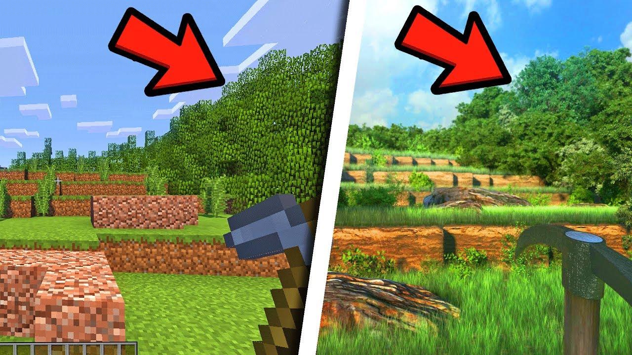 Comment Rendre Minecraft Encore Plus Realiste Youtube