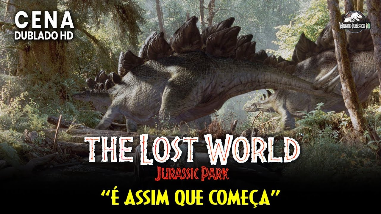 Jurassic Park O Parque Dos Dinossauros Cena Bem Vindos Dublado Hd Youtube