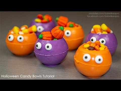 HALLOWEEN Candy Bowls Tutorial