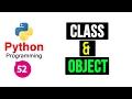 Python Programming Tutorials -52- Class