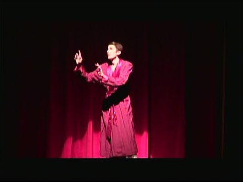 Braeden Stout in TZHS production of Curtains