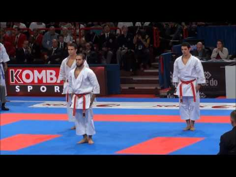 Team Kata + Bunkai UNSU by Egypt National Team - 21st WKF World Karate Championships
