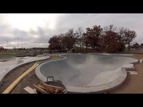 """Ann Arbor Michigan Skatepark """"sk8parkatlas"""""""