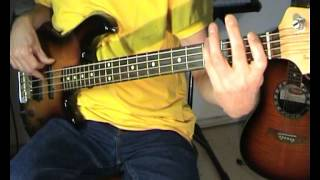 Gloria Gaynor - I Will Survive - Bass Cover