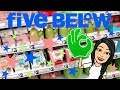 FIVE BELOW SHOPPING!!! CUTE *NEW* SPRING ROOM DECOR