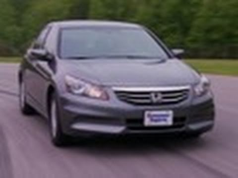 2011 2012 Honda Accord Review Consumer Reports Youtube