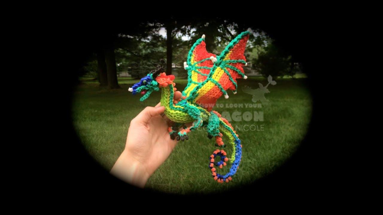 Part 2 4 Rainbow Loom Glory Rainwing From Wings Of Fire 1