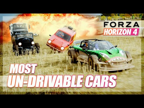 Forza Horizon 4 - Most Un-drivable Cars Challenge! thumbnail