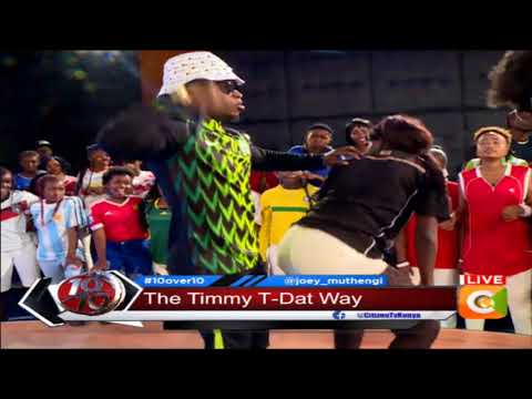 Timmy again on stage #10Over10