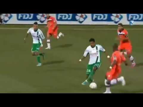 Lorient 1-1  AS Saint-Etienne ASSE But De Brandao