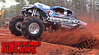 Mega Trucks Invade Mississippi - Southern Mud Outlaws 2019 Race 2
