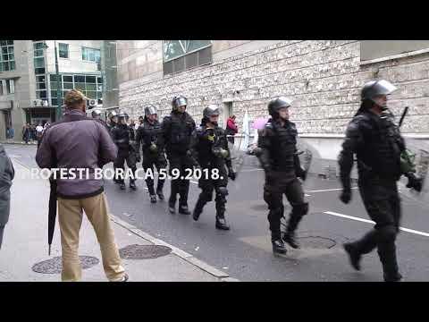 Protest demobilisanih boraca | Sarajevo 5.9.2018.