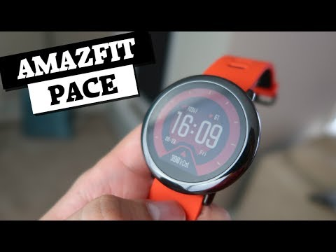 Resenha do smartwatch Amazfit Pace!