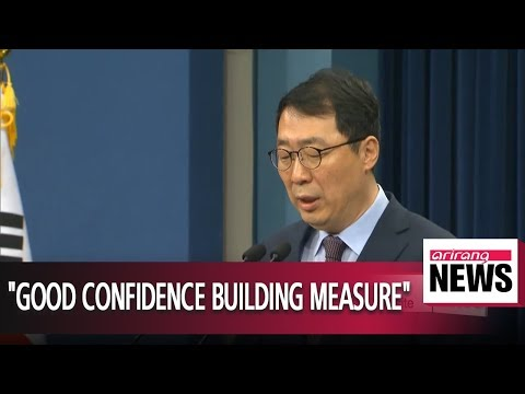 S. Korea's Blue House welcomes N. Korea's nuclear test site dismantlement plan