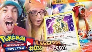 LA NOSTRA PRIMA SHINING DI LEGGENDE IRIDESCENTI! - Pokémon GCC Online Mega Pack Opening #33 !