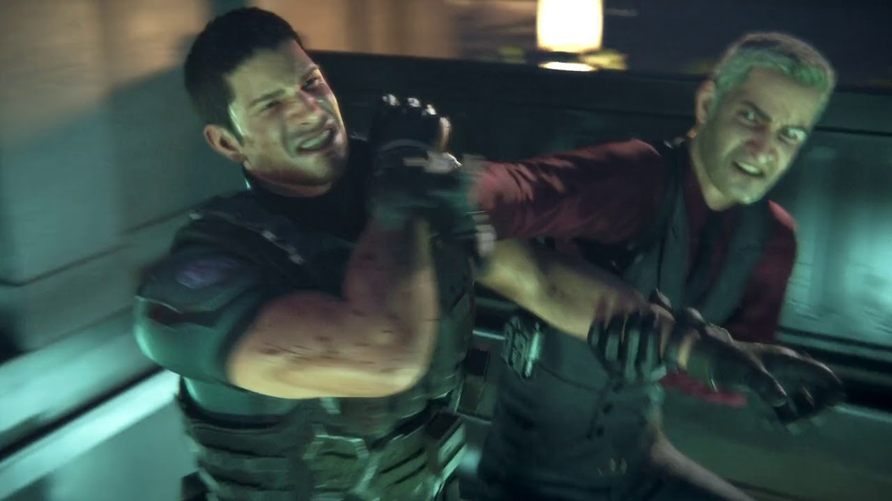 Chris Redfield Vs Glenn Arias Resident Evil Vendetta Youtube