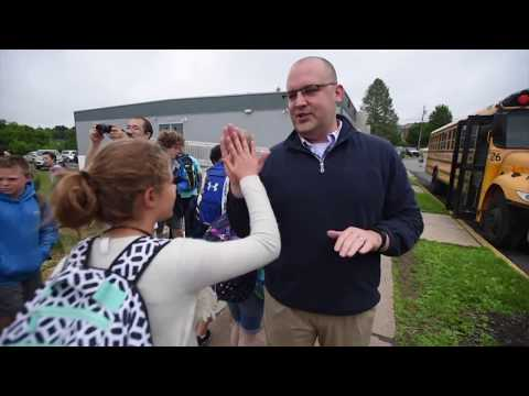 A farewell to fifth-graders at Radio Park Elementary School