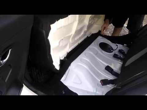 Lada XRAY (Лада Икс Рей) как разобрать заднее сидение