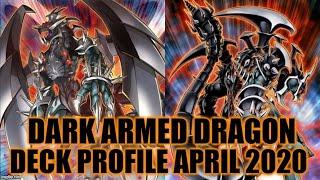 Gambar cover DARK ARMED DRAGON DECK PROFILE (APRIL 2020) YUGIOH! 3 DARK ARMED DRAGONS!!! IN A SINGLE TURN!!!