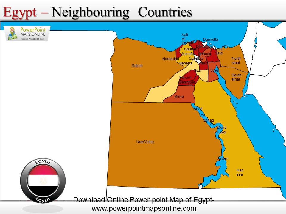 Download Online Powerpoint Map Of Egypt YouTube - Map of egypt online