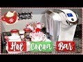 DIY HOLIDAY HOT COCOA AND COFFEE BAR