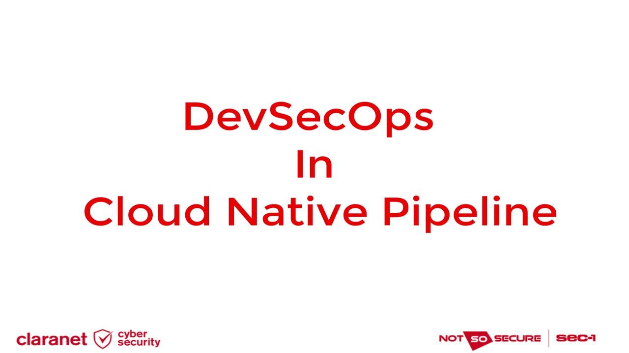 Achieving DevSecOps using AWS Cloud Native Services