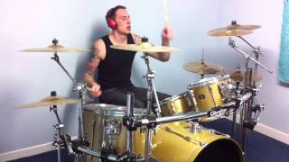 Black stone cherry- lonely train drum cover