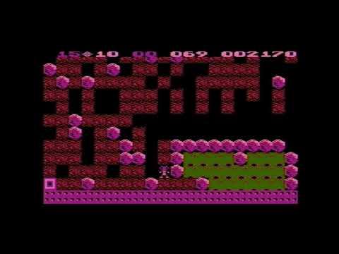 Boulder Dash 1984 Atari XL/XE