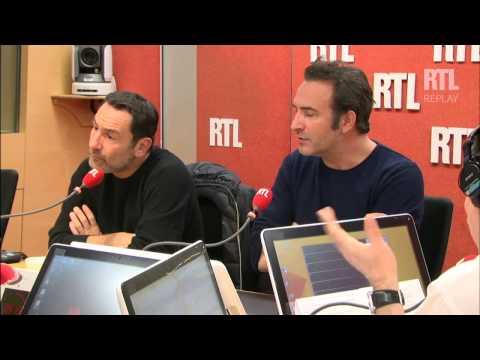 """""""Laissez-vous tenter"""" du 28 novembre 2014 avec Jean Dujardin et Gilles Lellouche - RTL - RTL"""