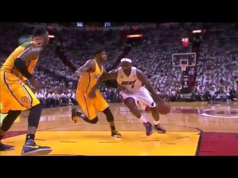 LeBron James 36 points vs Indiana (Full Highlights) (2013 NBA Playoffs GM2) ᴴᴰ