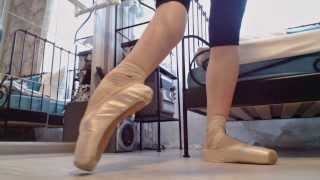 как разработать ПОДЪЕМ? How to improve your arches - BALLET tutorial  eng subs