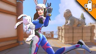 LOL DVA! Overwatch Funny & Epic Moments 584