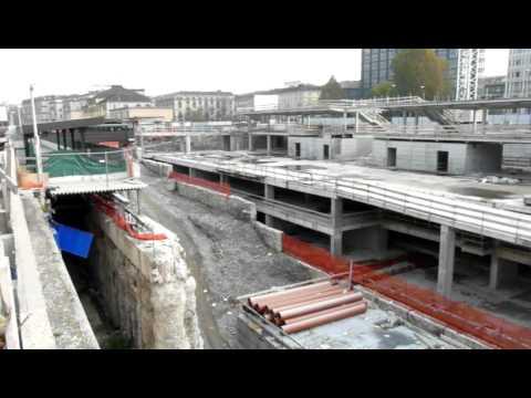 Cantiere nuova stazione torino porta susa fs youtube - Torino porta susa porta nuova ...