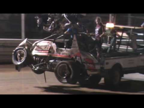 Selinsgrove Speedway 360 and 305 Sprint Car Highlights 6-04-16