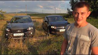 Заезд VW Polo Sedan 1.6 105 Hp Vs Lada Vesta Cross 1.8 122 Hp