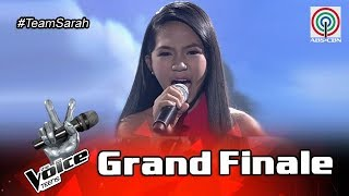 The Voice Teens Philippines Grand Finale: Jona Soquite - I Believe I Can Fly