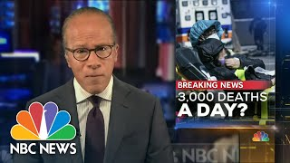 3,000 U.S. Deaths Per Day Projected By June: Report | NBC Nightly News