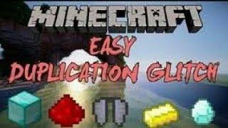 Top 4 Best Minecraft duplication glitch 100% works