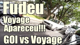 Gol Turbo 1.9 350cv 2 KG VS Voyage 1.9 Injetado Turbo - FUDEU Voyage APARECEU - SADY GO TURBO