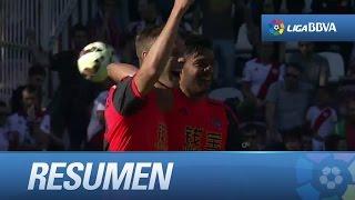 Resumen de Rayo Vallecano (2-4) Real Sociedad