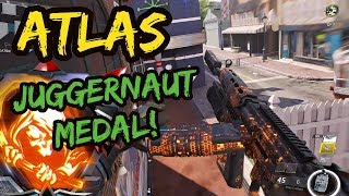 "NEW ""Atlas"" LMG drops an Epic JUGGERNAUT Medal! - Infinite Warfare"