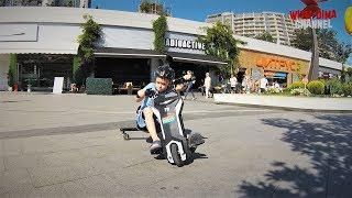 Дима катается на Дрифт Карте Razor Power Rider 360 в Аркадии г.Одесса