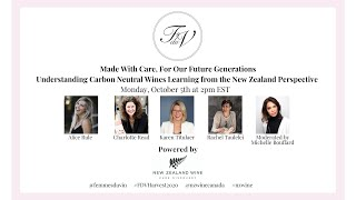 Femmes du Vin Harvest Seminar | Made With Care, For Our Future Generations